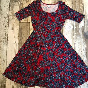 "NWT Lularoe ""Nicole"" Dress"
